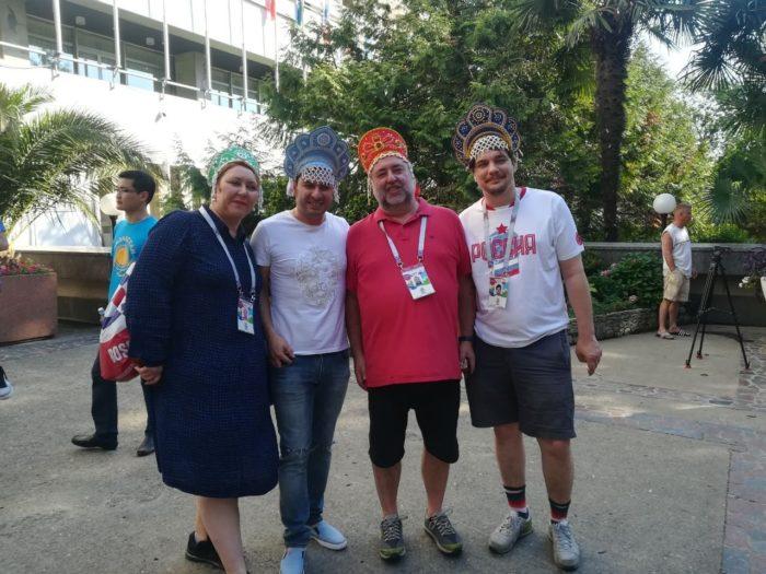 «Трое вкокошниках» прилетели наматч ЧМ-2018 Россия-Хорватия вСочи