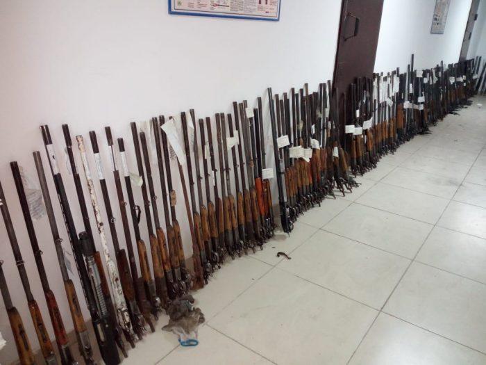 сданные ружья