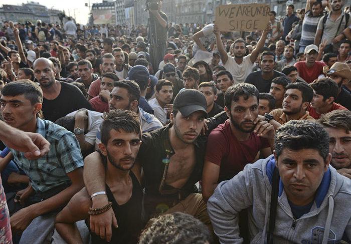 мигранты венгрия