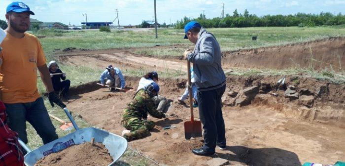 раскопки под Астаной