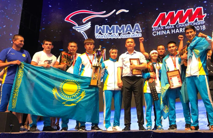 казахстанские бойцы мма выиграли чемпионат азии