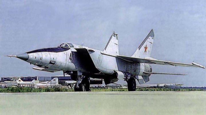 """МиГ-25. Источник: """"Военное обозрение"""""""
