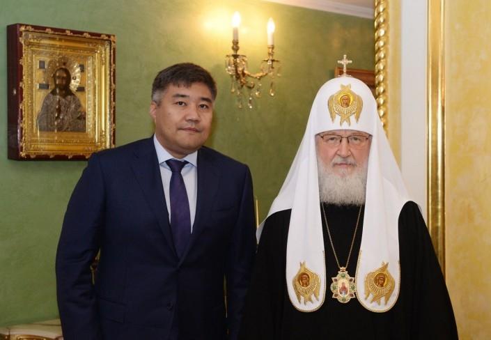 Калетаев и патриарх Кирилл
