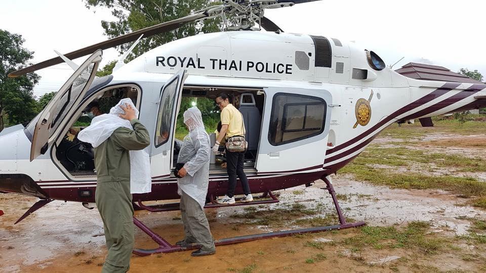 эвакуация детей Таиланд