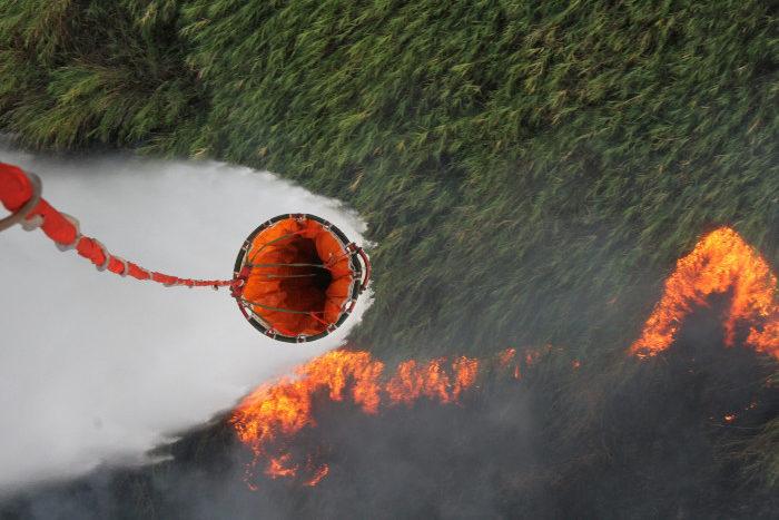 Пожар в Атырау. Фото: ATPress.kz