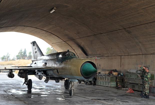 Су-22 ВВС Сирии. Источник: vostok.rs