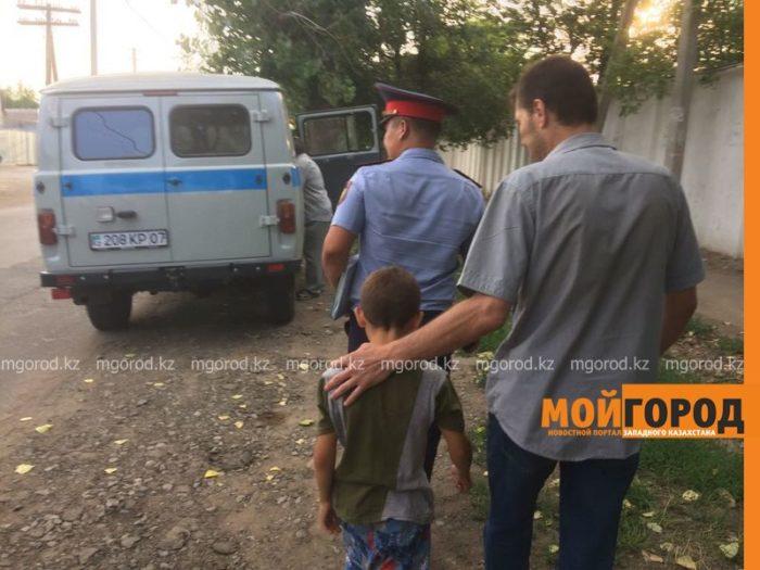 мальчик угнал авто уральск