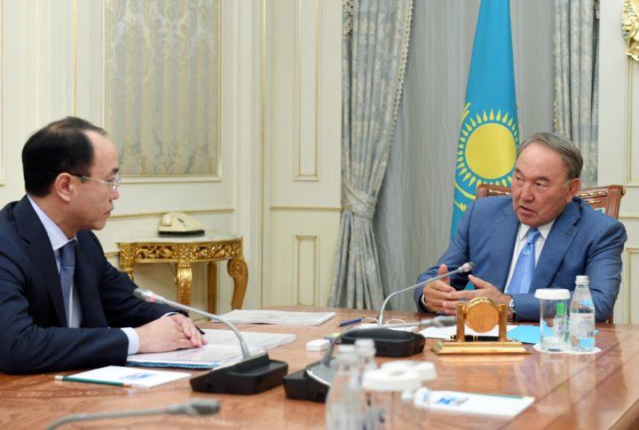Назарбаев и Кожамжаров