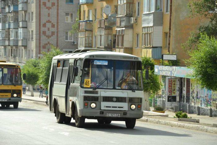 автобусы актобе