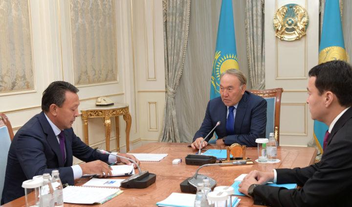 Назарбаев и Мынбаев