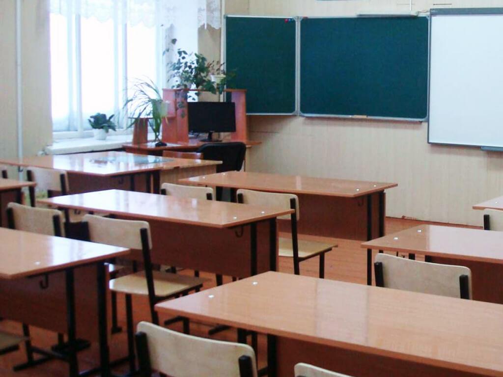 школа класс парты