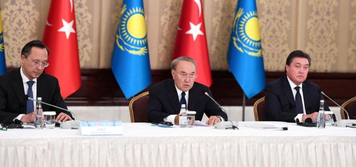 Назарбаев Турция
