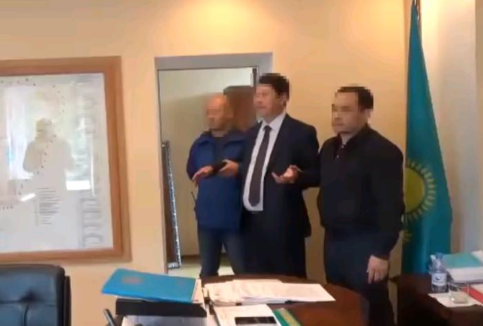 задержание акима мамлютского района