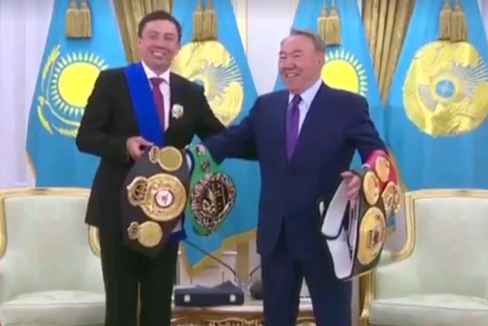 назарбаев и головкин