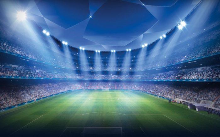футбол поле стадион