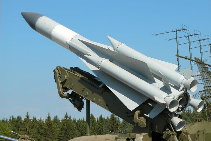 Ракета комплекса С-200. Фото из открытых источников