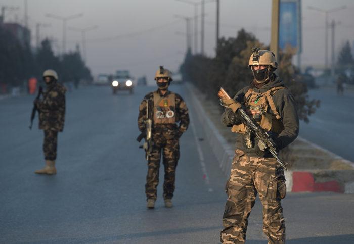 афганские силовики