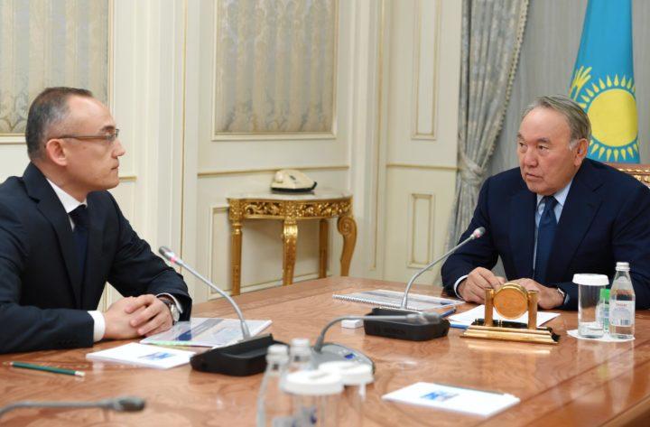 Назарбаев и Пирматов