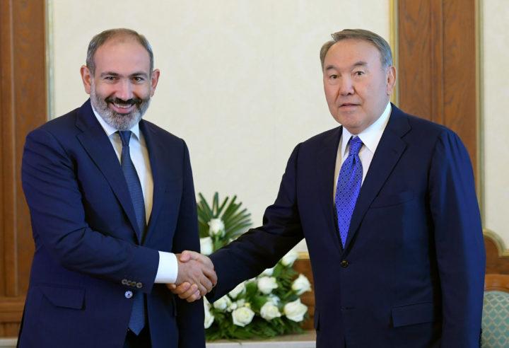 Назарбаев и Пашинян