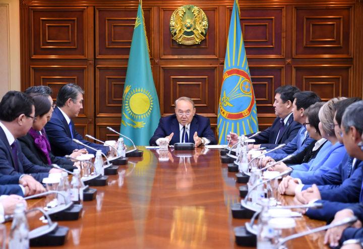 Назарбаев, маслихат Астаны