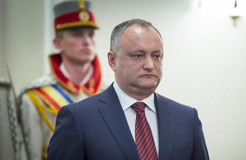 Игорь Додон. Фото: Sputnik Молдова
