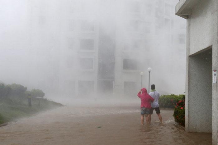 тайфун гонконг