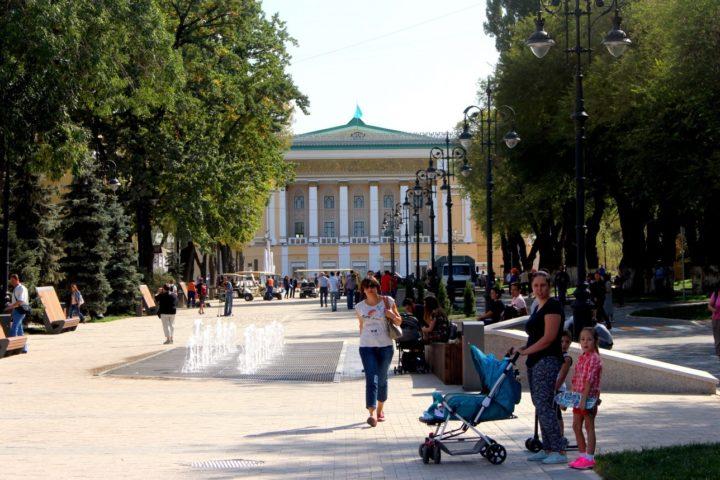 Улица Панфилова. Фото: informburo.kz