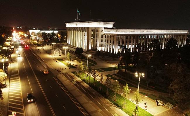 Старая площадь, площадь Астана. Фото: пресс-служба акимата Алматы