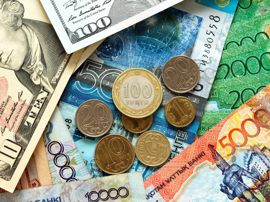 деньги тенге доллары