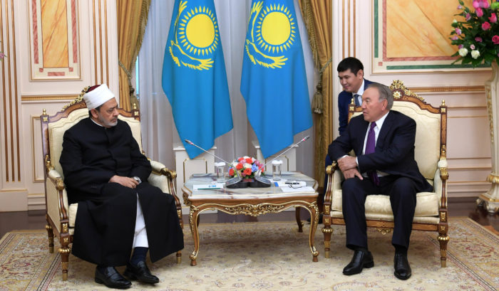назарбаев и имам аль-азхара