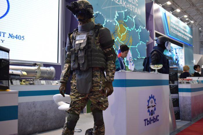 """Экспонат казахстанского стенда на выставке """"Армия-2018"""""""