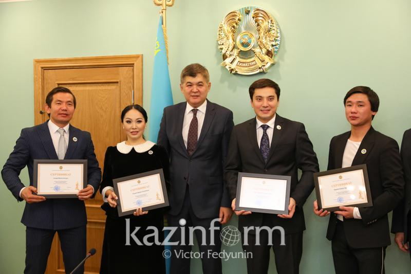 Кайрат Нуртас и Нурлан Алимжанов стали послами здоровья Казахстана