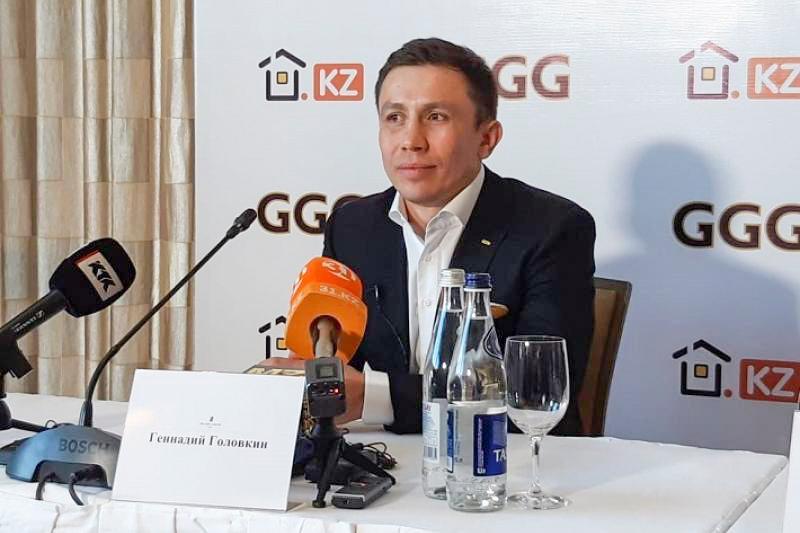 "Геннадий Головкин. Фото: ""Казинформ"""