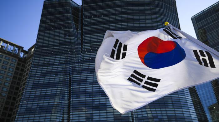 Флаг Республики Корея Сеул