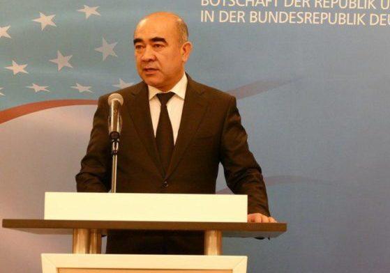 Зойир Мирзаев. Фото: посольство Германии в Узбекистане