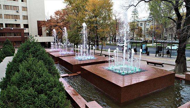 фонтаны алматы