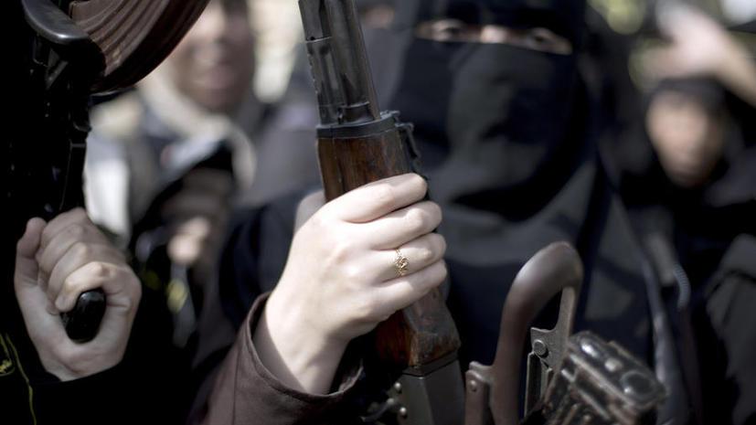 женщины террористки экстремистки