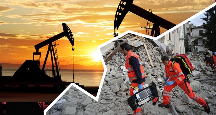 Нефть и землетрясения