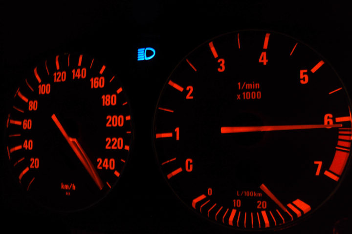 Спидометр, скорость, авто