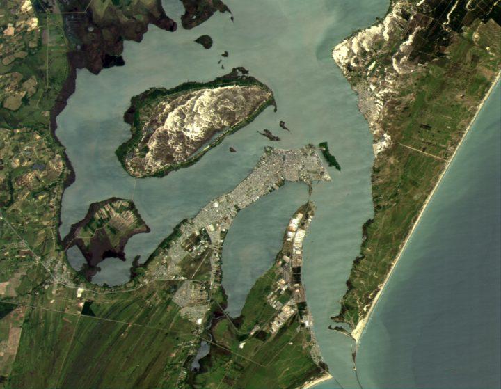 Спутниковый снимок Рио-Гранде