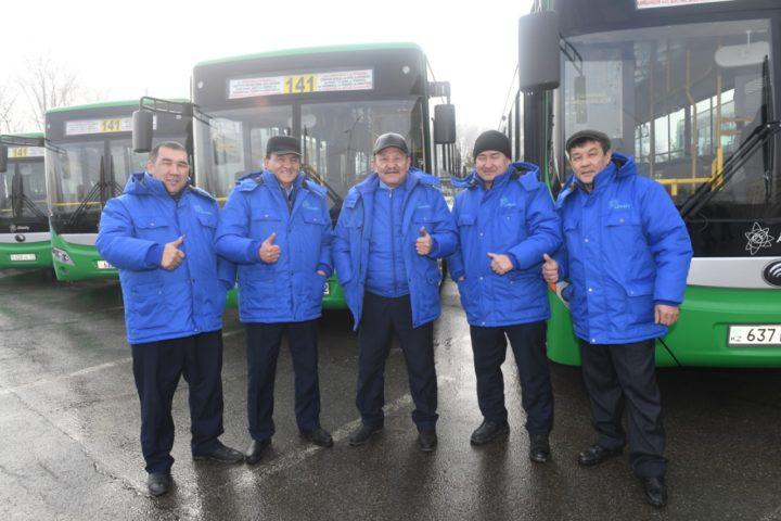 Водители автобусов Алматы