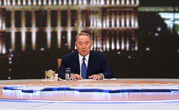 назарбаев интервью
