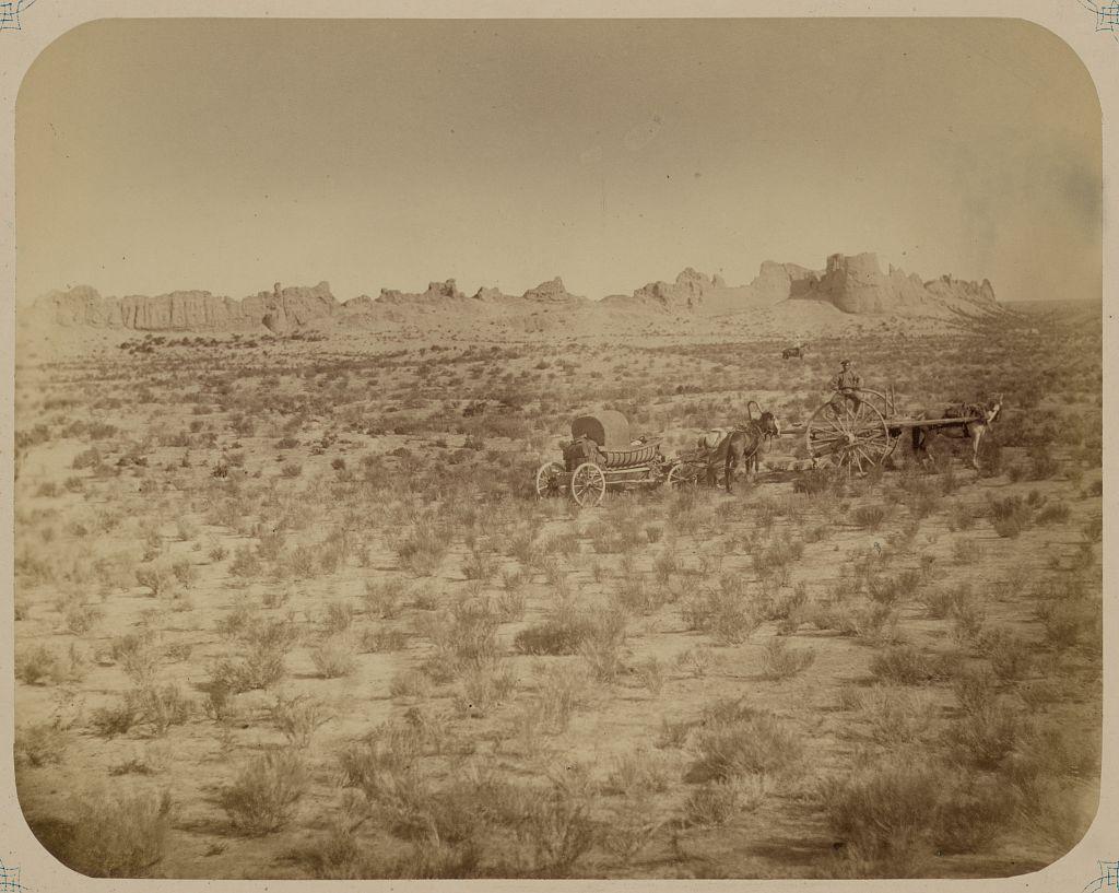 Руины древнего города Сауран