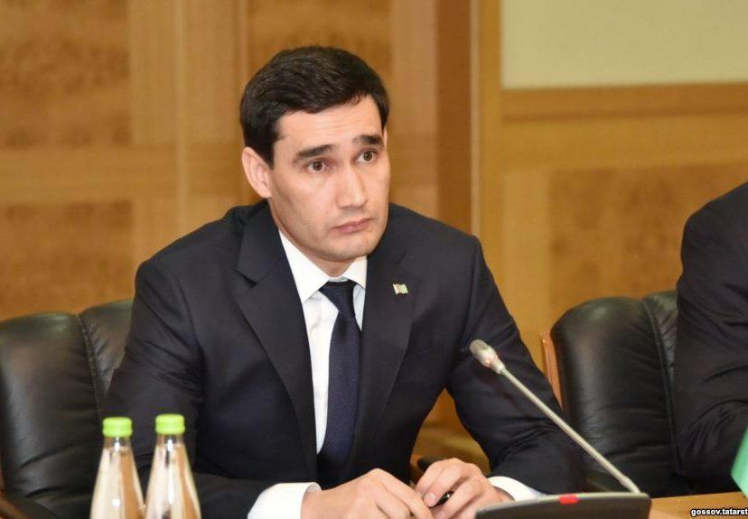 Сердар Бердымухамедов. Источник: Радио Азаттык