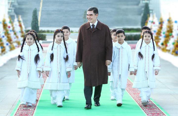 Гурбангулы Бердымухамедов, Туркменистан