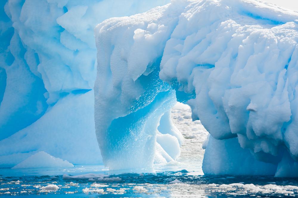Антарктида, ледник