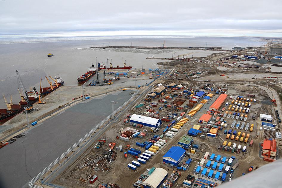 Порт Сабетта. Фото из открытых источников