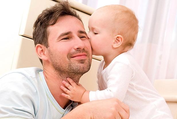 Отец, ребенок, мужчина