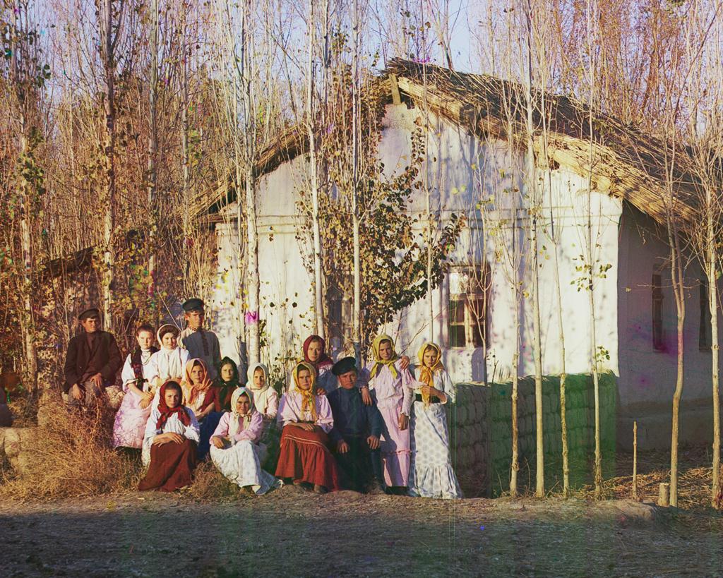 Русские переселенцы в поселке Надеждинский