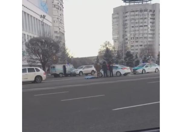 ДТП на Новой площади